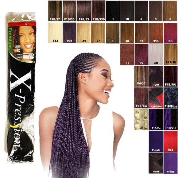 XPRESSION BRAIDS