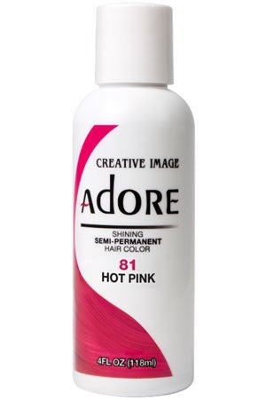 Adore Semi Permanent Hair Color (4 oz)- #81 Hot Pink