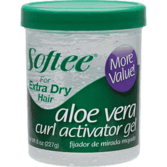 SOFTEE ALOE VERA CURL ACTIVATOR GEL FOR EXTRA DRY HAIR