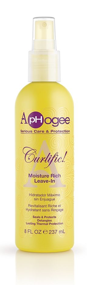 Aphogee Curlific! Moisture Rich Leave-in | Moisturizer, Low porosity hair
