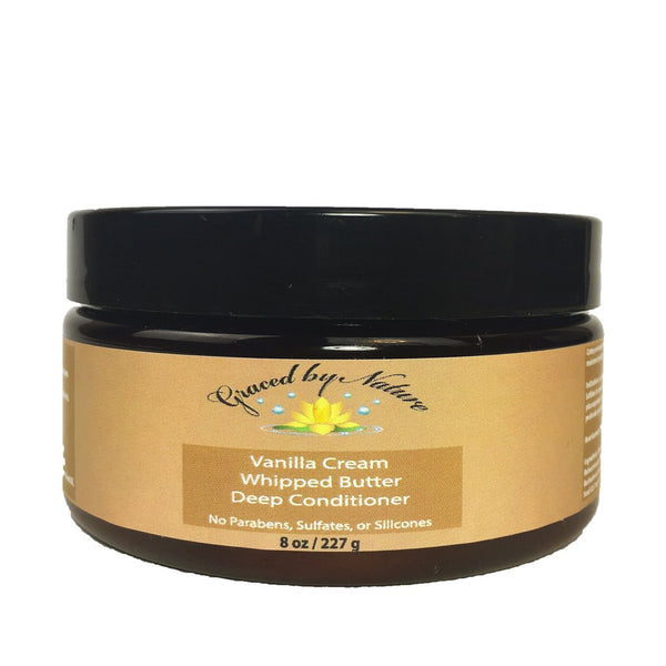 Graced by Nature Vanilla Cream Whipped Butter Deep Conditioner (8oz)