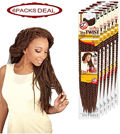 EVE JUMBO TWIST BRAID  (6 PACKS/PACKAGE)