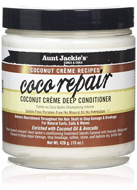 Aunt Jackie`s Coco Repair – Deep Conditioner