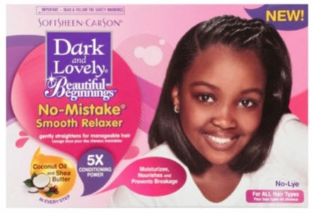 Dark and Lovely Beautiful Beginnings No-Mistake Smooth Relaxer