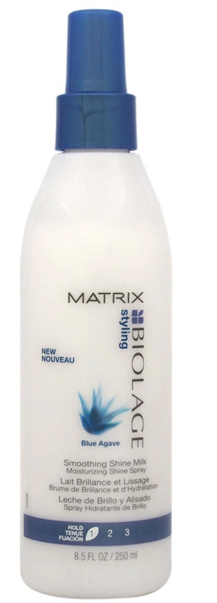 MATRIX BIOLAGE Blue Agave Smoothing Shine Milk 8.5OZ