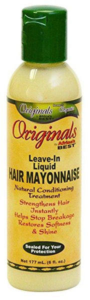 AFRICA'S BEST ORGANICS LEAVE IN LIQUID HAIR MAYONNAISE - KYROCHE BEAUTY SUPPLIES