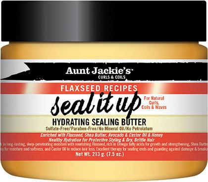Aunt Jackie`s Seal It Up – Hydrating Sealing Butter