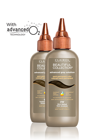 CLAIROL BEAUTIFUL COLLECTION ADVANCED GRAY SOLUTION SEMI -PERMANENT COLOR