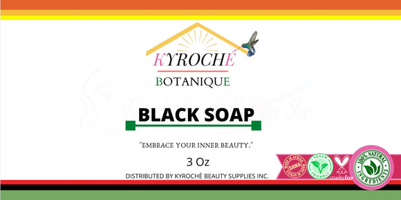 KYROCHE 100% BLACK SOAP