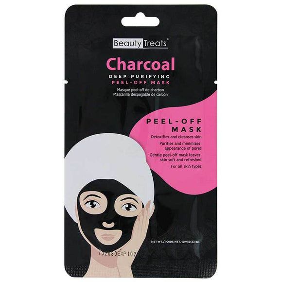 BEAUTY TREATS Deep Purifying Peel-Off Charcoal Mask