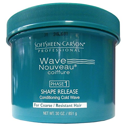 SOFTSHEEN CARSON PROFESSIONAL WAVE NOUVEAU SHAPE RELEASE CONDITIONING COLD WAVE