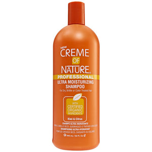 Creme of Nature Kiwi & Citrus Ultra Moisturizing Shampoo for Dry, Brittle, Color Treated Hair