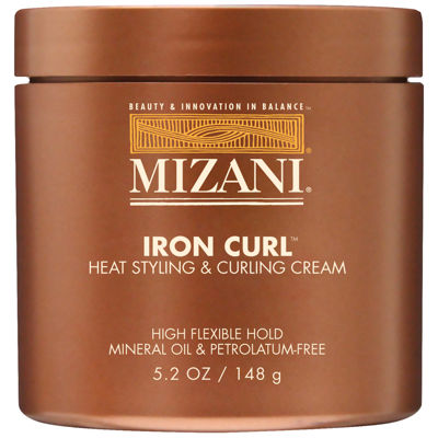 MIZANI Iron Curl Heat Styling & Curling Cream, 5.2 Oz