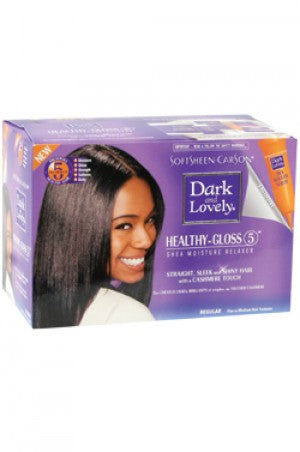 Dark & Lovely Healthy Gloss 5 Shea Moisture Relaxer
