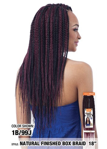 MODEL MODEL NATURAL FINISHED BOX BRAIDS