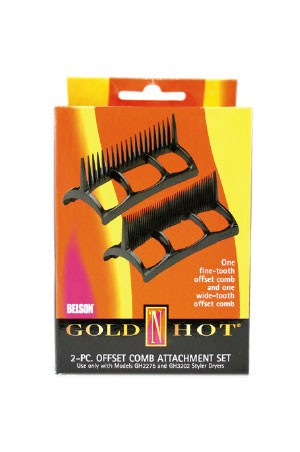 Gold'N Hot #GH2276 Offset Comb Attachment Set