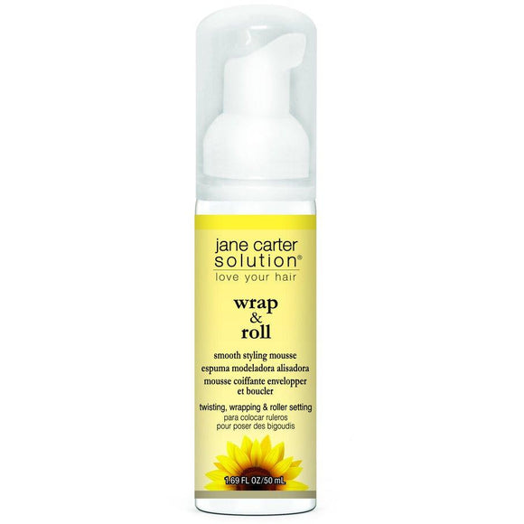 JANE CARTER GROW WRAP AND ROLL IT GREAT HAIR MOUSSE