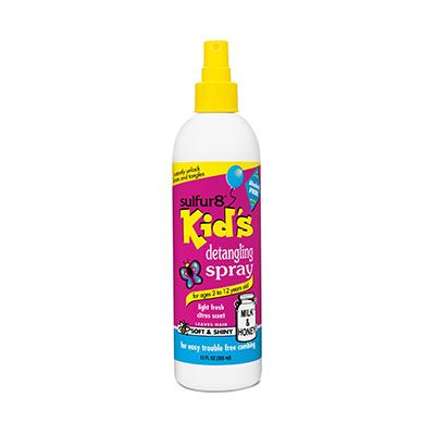SULFUR 8 Kids Detangling Spray (12oz)