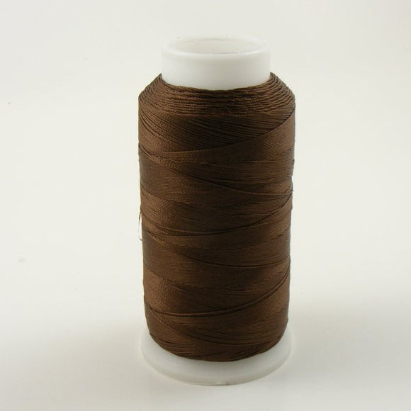 BROWN NYLON WEAVING THREAD