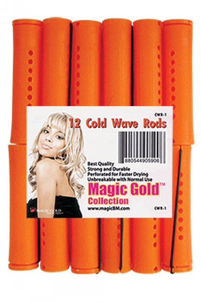 "Magic Gold Cold Wave Rods [Jumbo 13/16"" Tangerin] #CWR-1"