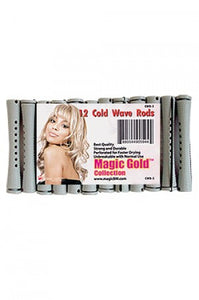 "Magic Gold Cold Wave Rods Long 8/16"" Gray #CWR-5"