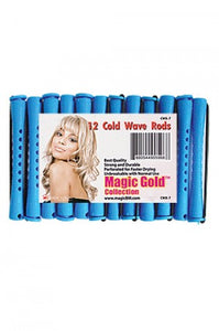 "Magic Gold Cold Wave Rods Long 4/16"" Blue #CWR-7"