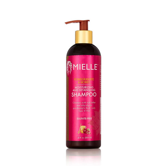 MIELLE POMEGRANATE AND HONEY MOISTURIZING AND DETANGLING SHAMPOO