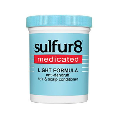 Sulfur 8 Medicated Light Formula Anti Dandruff Hair And Scalp Formula Conditioner (7.25 Oz)
