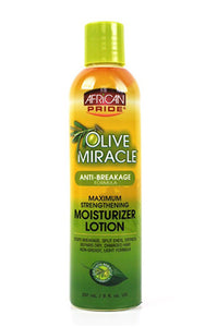 African Pride Olive Miracle Moisturizer Lotion-Maximum