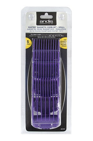 Andis Master Magnetic Combs Set [5pcs] #01410