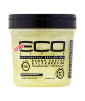 ECO STYLE PROFESSIONAL STYLING GEL BLACK CASTOR OIL