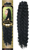 Magic Gold Brazilian Yaki Franch Deep Braid