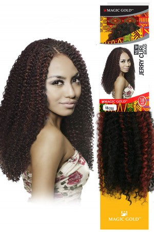 Magic Gold New Jerry Curl Braid