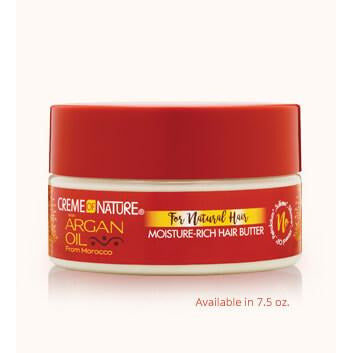 CREME OF NATURE ARGAN OIL MOIST. RICH HAIR BUTTER