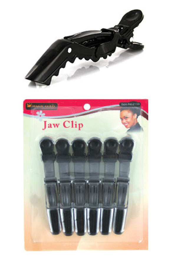 Magic Gold-#2113] Jaw Clip (6pc/pk)