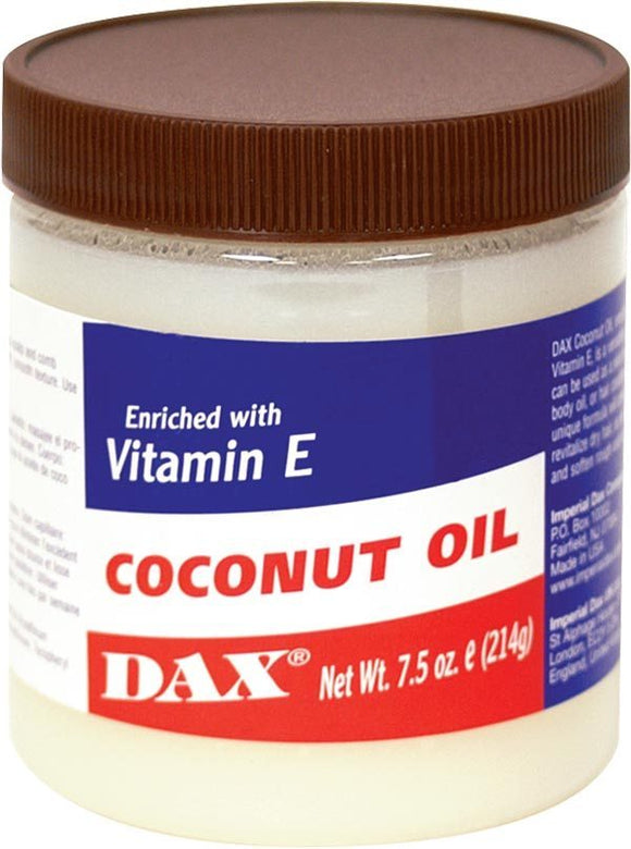 DAX COCONUT OIL ENRICHED WITH VITAMIN E