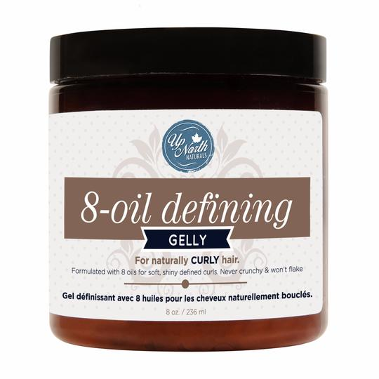 UP NORTH NATURALS 8-OIL DEFINING GELLY