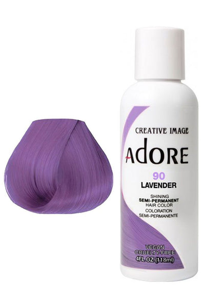 Adore  Semi Permanent Hair Color (4 oz)- #90 Lavender