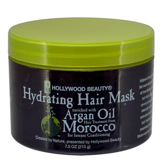 HOLLYWOOD BEAUTY Morocco Argan Oil Hydrating Hair Mask (7.5oz)