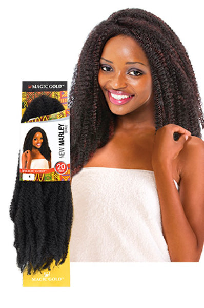 MAGIC GOLD NEW MARLEY BRAIDS