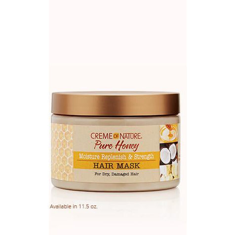 CREME OF NATURE PURE HONEY REPLENISH AND STRENGTH HAIR MASK