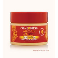 CREME OF NATURE ARGAN OIL TWIST AND CURL PUDDING