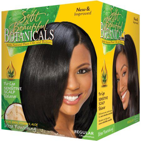 Soft & Beautiful Botanical Relaxer Kit - Regular