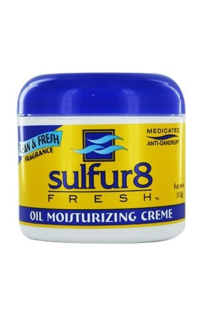 Sulfur 8 Fresh Oil Moisturizing Cream