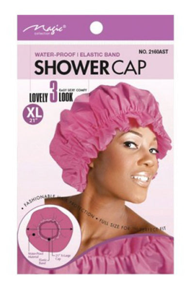 Magic Collection Satin Shower Cap XL