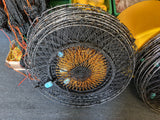 5 x Crab Nets 75cm Pro Stainless Steel - Luminous Eye - Mesh Bottom - Minimum Quantity Order 5