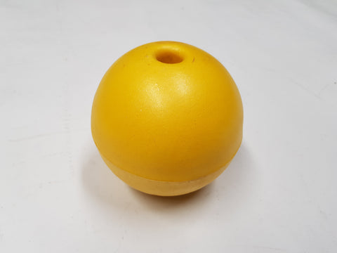 "6"" Yellow High Density Foam Floats - High Quality - Diamond Networks"
