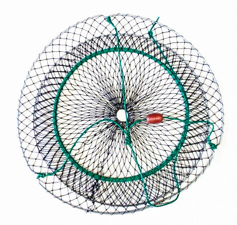 5 x Crab Nets - 70cm Koonak - Small Cord Mesh - Minimum Quantity Order 5 - Diamond Networks