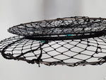 5 x Crab Nets 90cm Pro Stainless Steel - Mesh Bottom - High Quality Construction - Minimum Quantity Order 5 - Diamond Networks