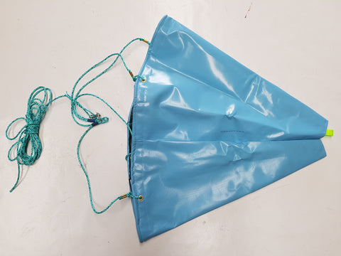 Sea Anchor - High Quality - For Boats up to 5m in Size + Swivel, Bag and Rope - Diamond Networks